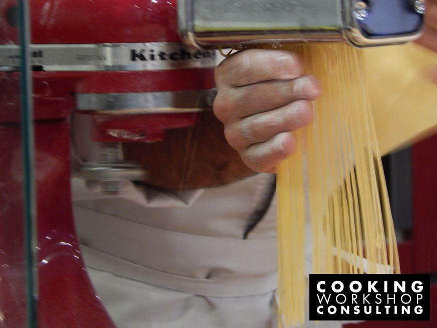 Photo Gallery Φρέσκα Ζυμαρικά με τον Chef Παναγιώτη Δεληθανάση