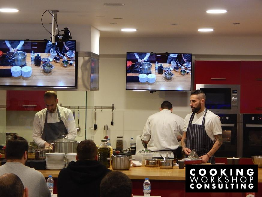 Photo Gallery Master class Γαλλική δημιουργική κουζίνα με τον Βασίλη Μουρατίδη