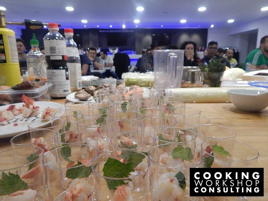 Photo Gallery Σεμινάριο Master Class Η Μαγεία του UMAMI με τον Chef Χρόνη Δαμαλά