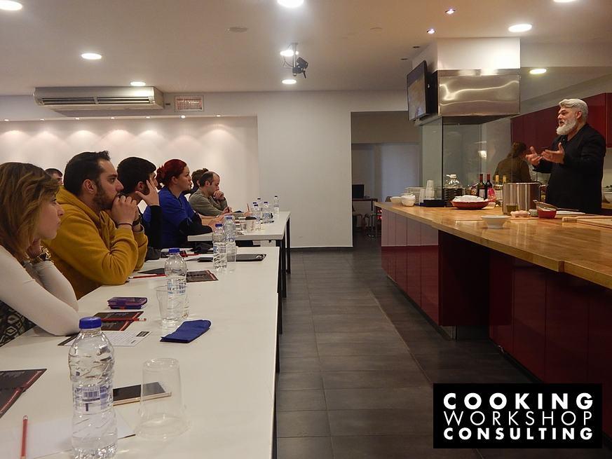 Photo Gallery Σεμινάριο Αγιορείτικη κουζίνα με τον Chef Λεωνίδα Καρύτσιο