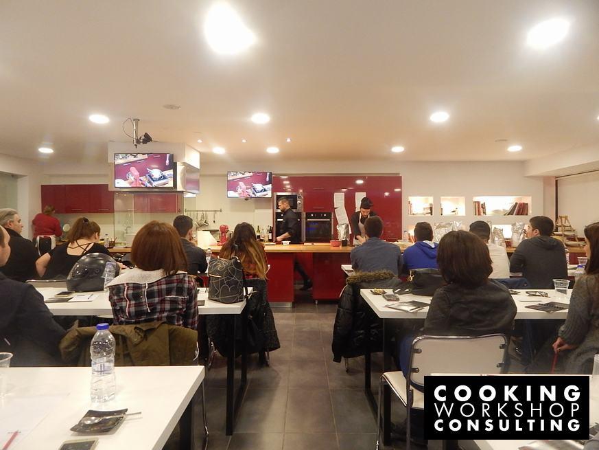 Photo Gallery Σεμινάριο Μaster Class Session 3 Γλυκά εστιατορίου για επαγγελματίες Αλέρτας Διονύσης