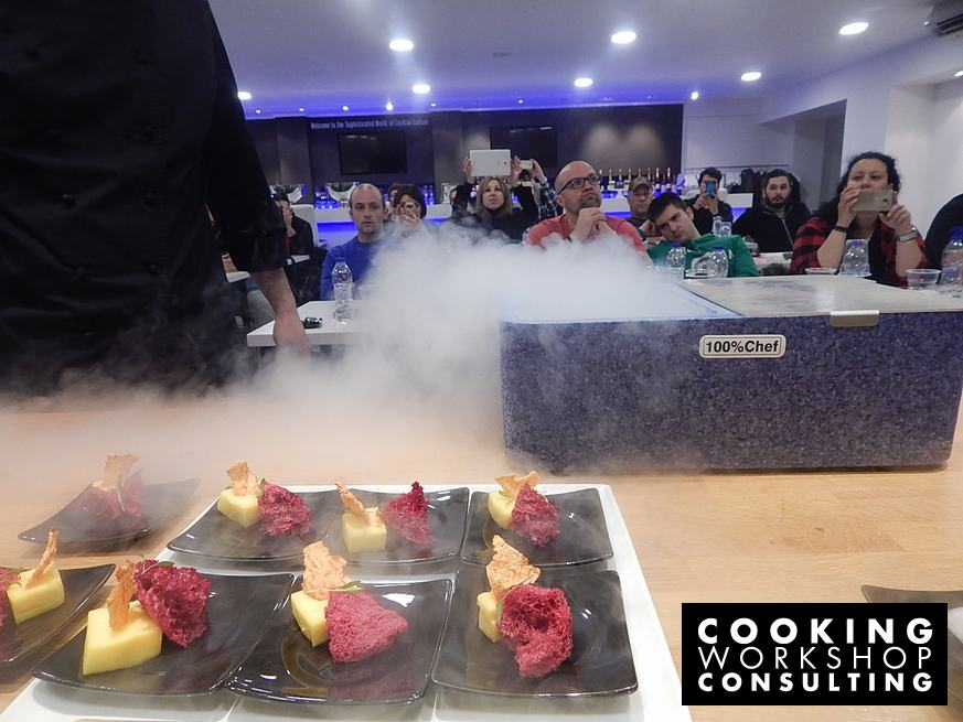 Photo Gallery SESSION 2 MASTER CLASS MOLECULAR GASTRONOMY