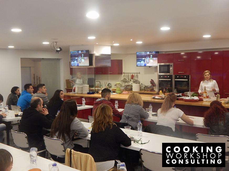 Photo Gallery Γαλλικές Αλμυρές Τερίνες και οι Σάλτσες τους με την Chef Ντίνα Νικολάου