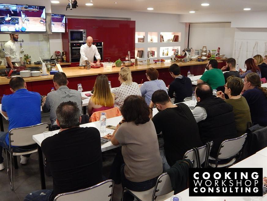 Photo Gallery Σεμινάριο μαγειρικής Burger Academy