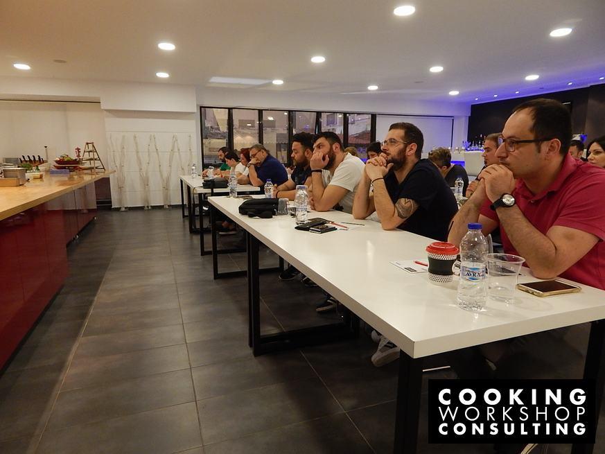 Photo Gallery Σεμινάριο μαγειρικής Street Food με τον Chef Παναγιώτη Δεληθανάση