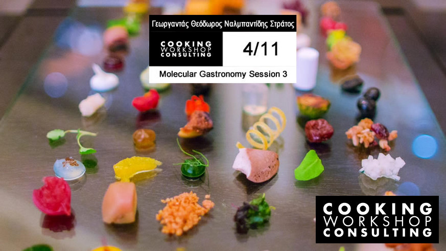 Master Class Molecular Gastronomy Session 3