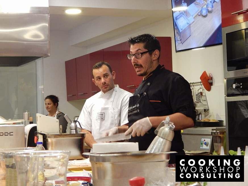 Σεμινάριο μαγειρικής Master class με τον Chef Αλέξανδρο Τσιοτίνη