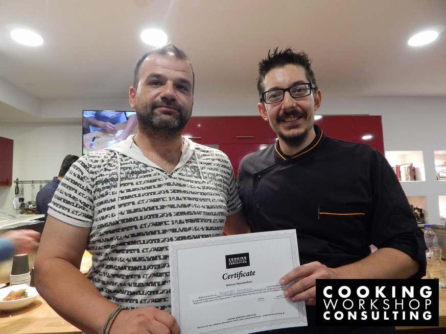 Photo Gallery Σεμινάριο μαγειρικής Master class με τον Chef Αλέξανδρο Τσιοτίνη