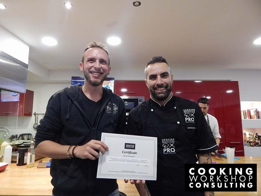 Photo Gallery Σεμινάριο μαγειρικής Μaster class με τον Chef Βασίλη Μουρατίδη