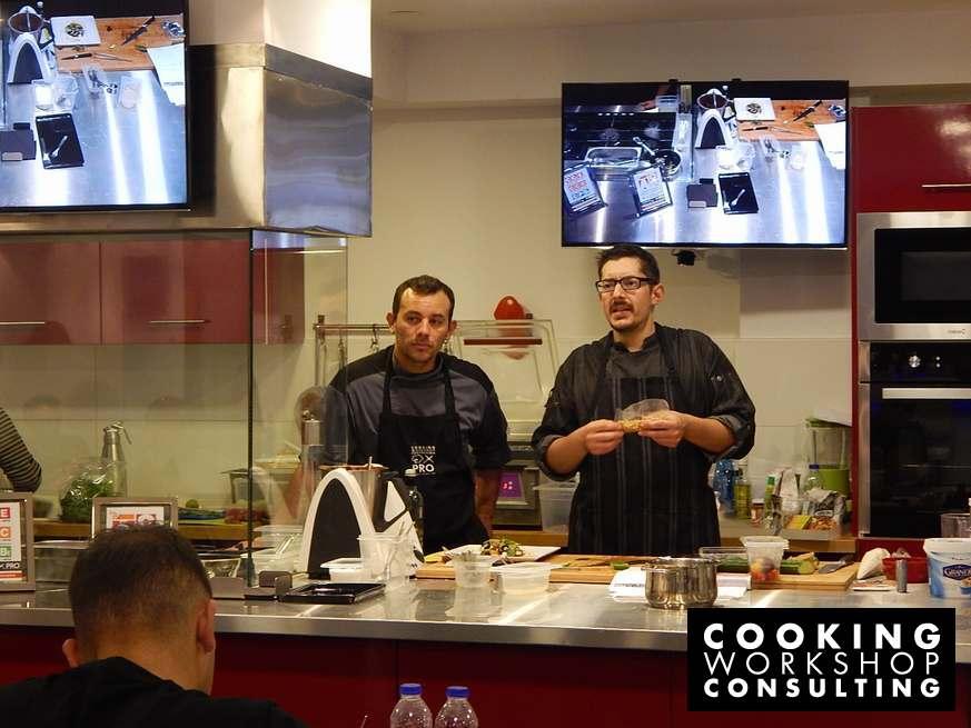 Photo Gallery Σεμινάριο μαγειρικής Μaster class με τον Chef Αλέξανδρο Τσιοτίνη