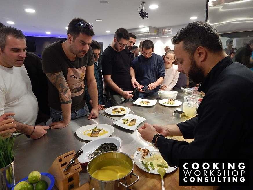 Σεμινάριο μαγειρικής Master Class με τον Chef Γιάννη Παρίκο