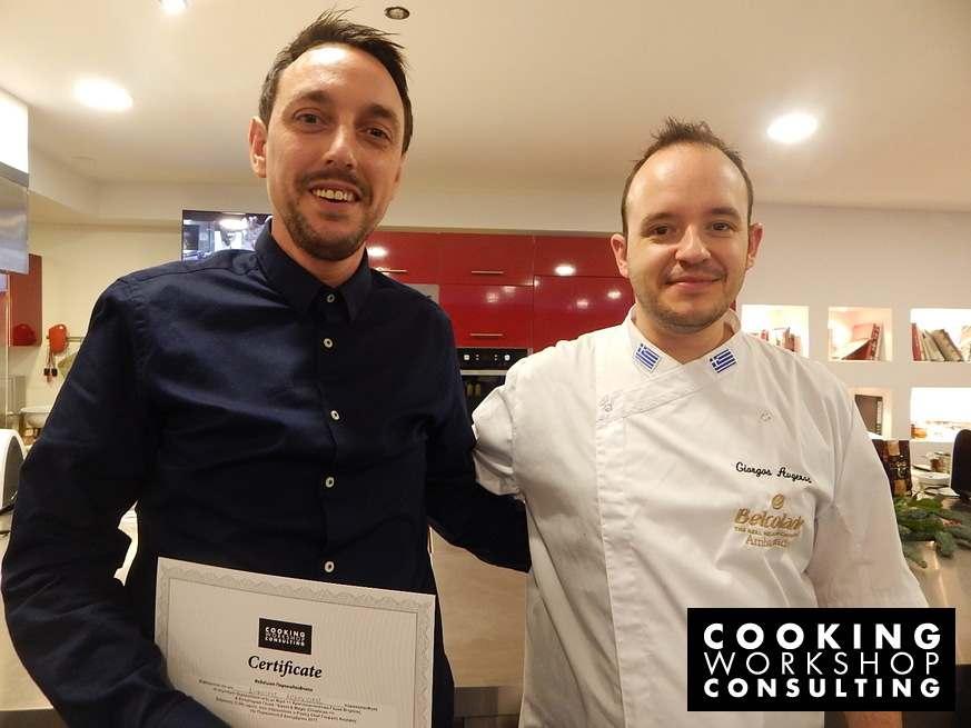 Photo Gallery Master Class με τον Pastry Chef Γιώργο Αυγέρο