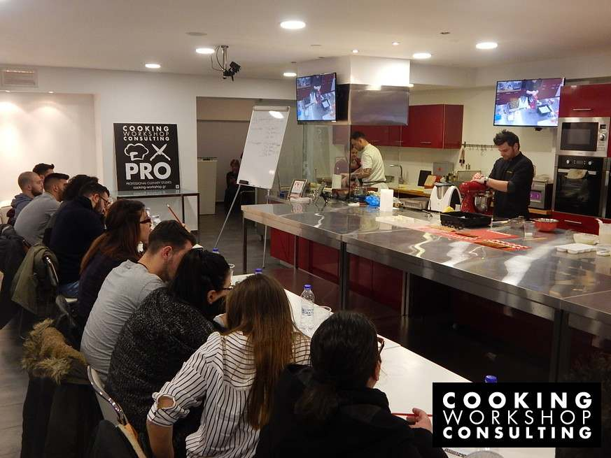 Photo Gallery CWC PRO Master Class με τον Pastry Chef Τίμο Βλάχου