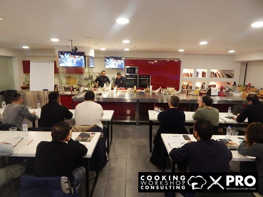 Photo Gallery CWC MasterClass με τον Chef Γιάννη Παρίκο