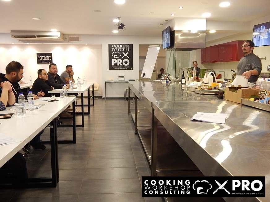 Photo Gallery CWC MasterClass με τον Chef Αλέξανδρο Τσιοτίνη