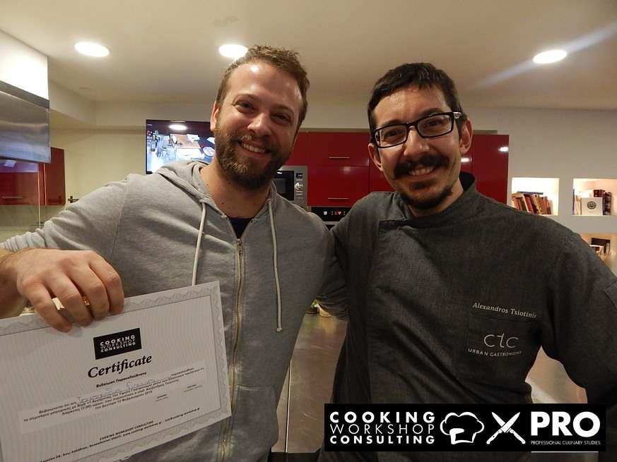 Photo Gallery CWC PRO MasterClass με τον Chef Αλέξανδρο Τσιοτίνη