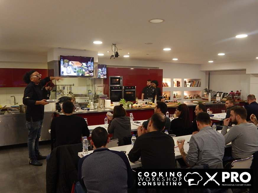 Photo Gallery CWC PRO MasterClass με τον Chef Χρόνη Δαμαλά
