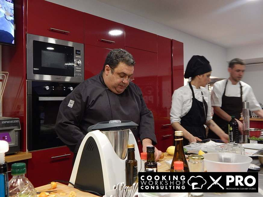 Photo Gallery CWC PRO MasterClass με τον chef Χριστόφορο Πέσκια
