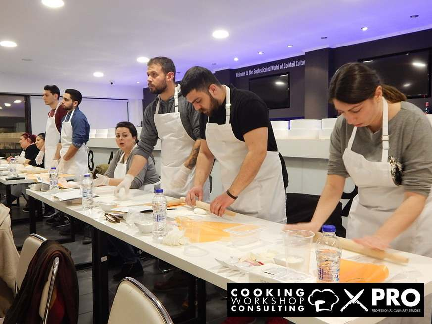 Photo Gallery CWC PRO MasterClass με τον Γάλλο Pastry Chef Aymeric Bredelle
