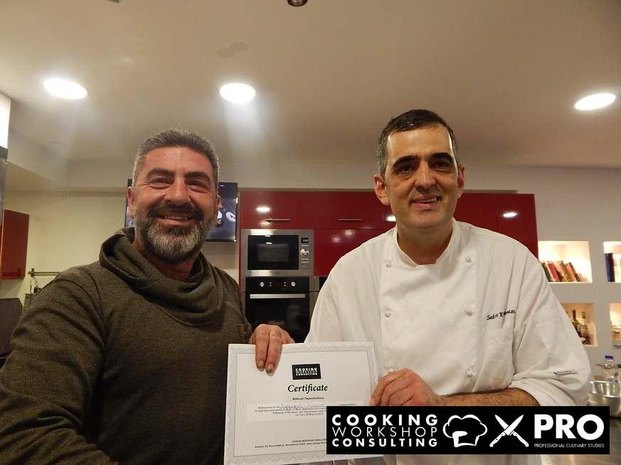 Photo Gallery CWC PRO MasterClass με τον chef Σάκη Καλλιοντζή