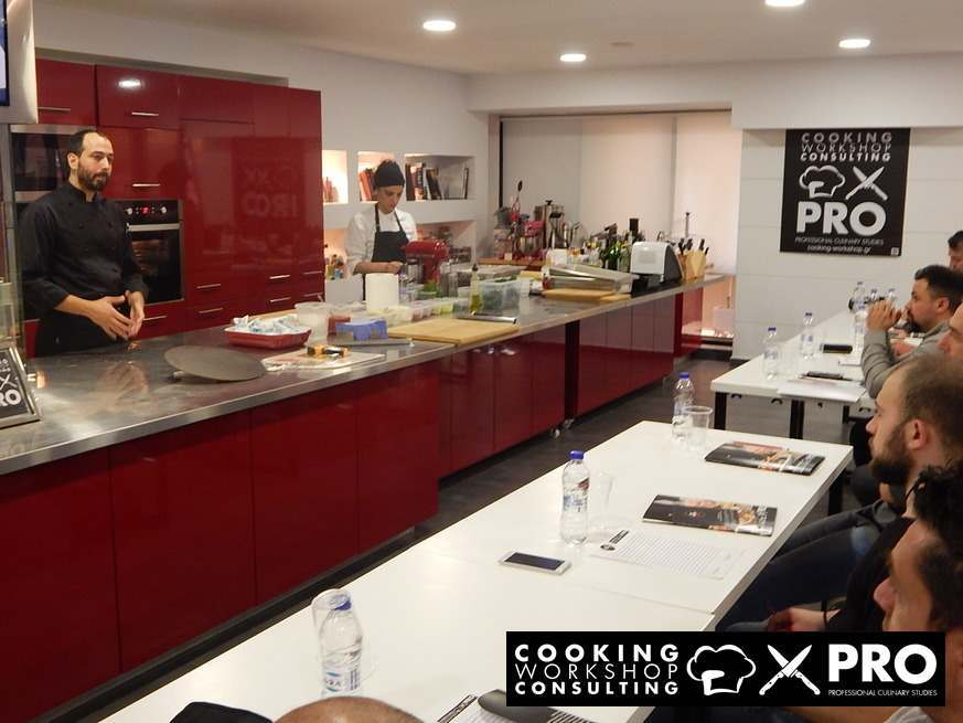 Photo Gallery Σεμινάριο Μαγειρικής Σπιτική πίτσα επαγγελματικού επιπέδου