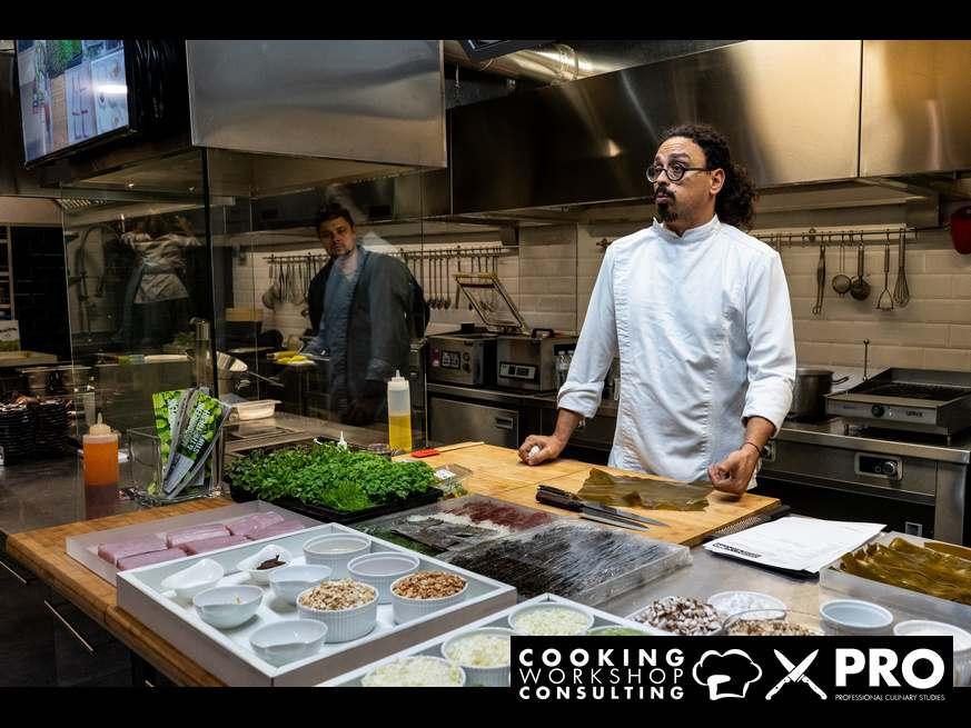 Photo Gallery High End Japanese Cuisine με τον chef Χρόνη Δαμαλά