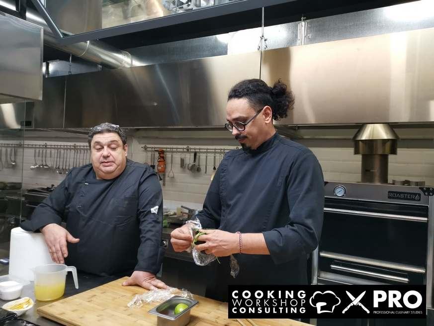 Σεμινάριο Μαγειρικής Μost Wanted Four Hands Fusion Cuisine