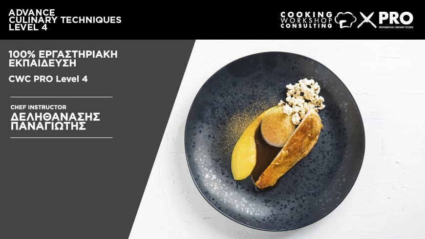 Σεμινάριο Σεμινάριο Hands On Μαγειρικής Advanced Culinary Techniques 4
