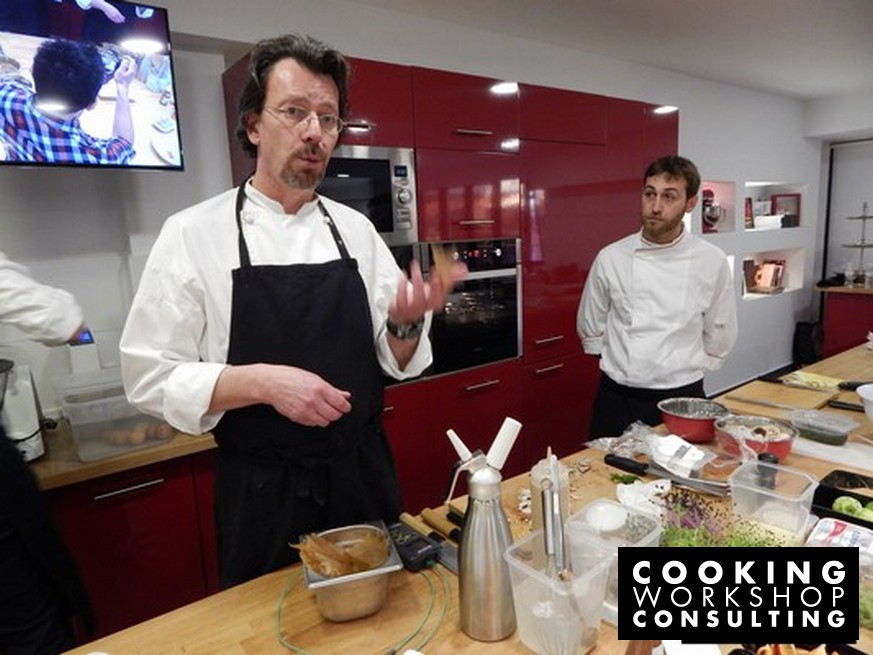 Masterclass Δημιουργική Κουζίνα με τον chef Herve Pronzato