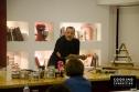 """Εικόνες από το σεμινάριο """"Νεοελληνική Κουζίνα"""" με τον Δημήτρη Σκαρμούτσο."""