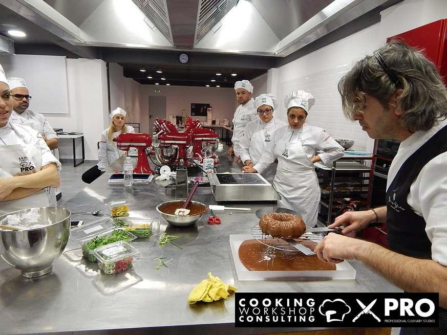 Cooking workshop Consulting Πρόγραμμα Ταχύρρυθμης Εκπαίδευσης Ζαχαροπλαστικής Τέχνης